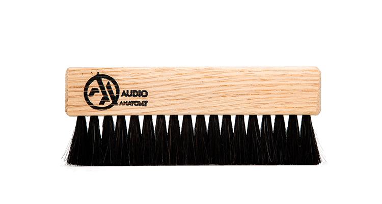 Vinyl Brush Oak Wood and Goat Hair Natural