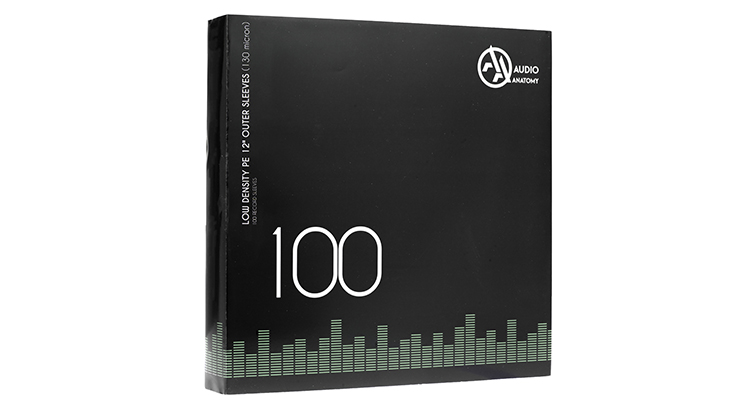 Vinyl Outer Sleeves 100 Pieces Audio Anatomy