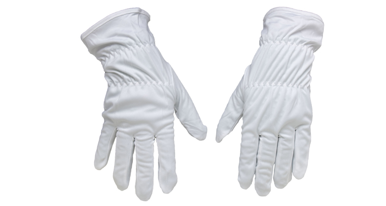 Vinyl Cleaning Glove White - Audio Anatomy