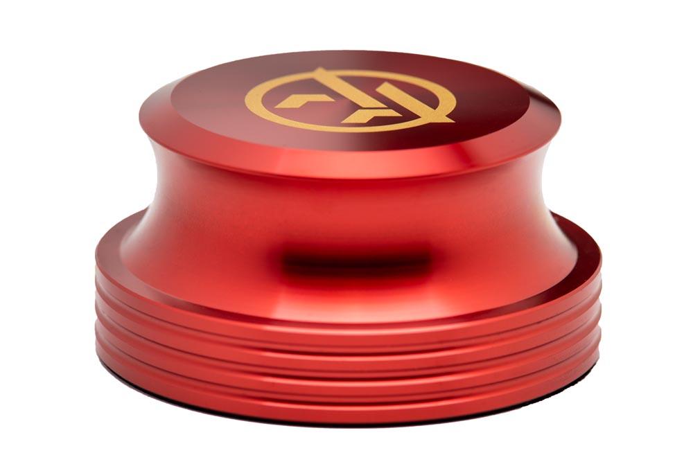 Vinyl Record Stabilizer red - Audio Anatomy