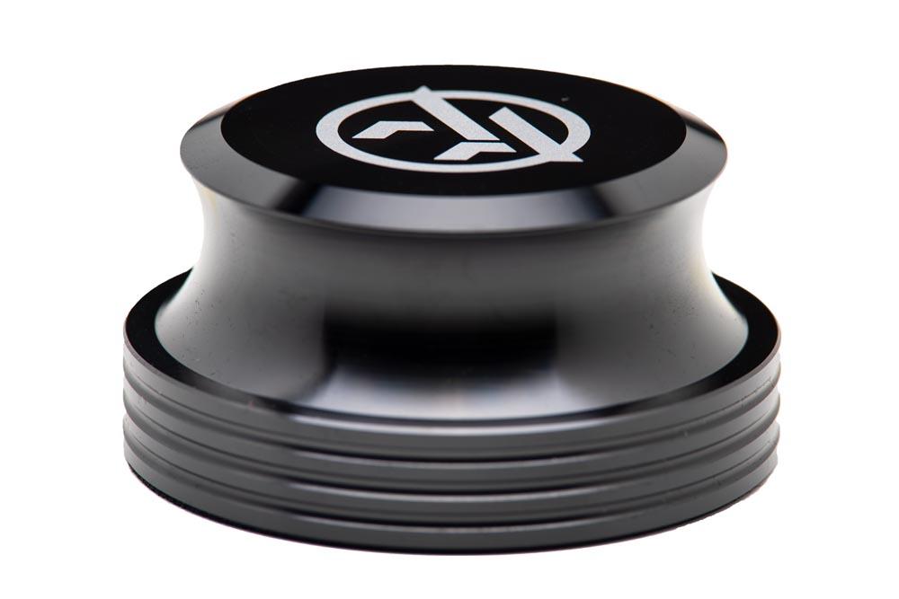 Black Vinyl Record Stabilizer - Audio Anatomy