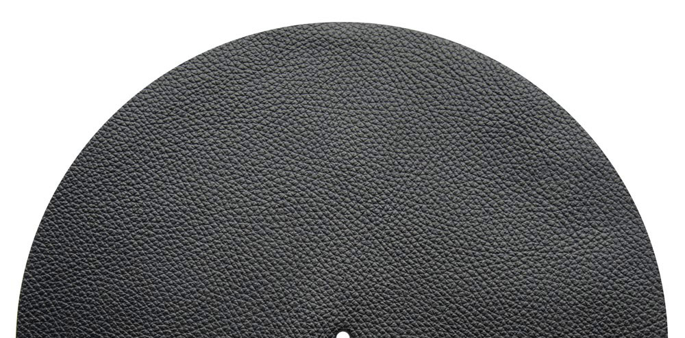Best Vinyl Slipmat Leather Black 1,5 mm - Audio Anatomy