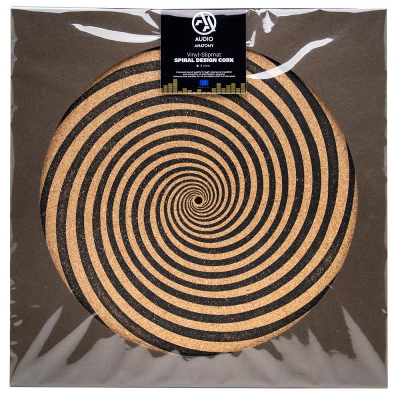 Special Spiral Vinyl Record Slipmats - Audio Anatomy