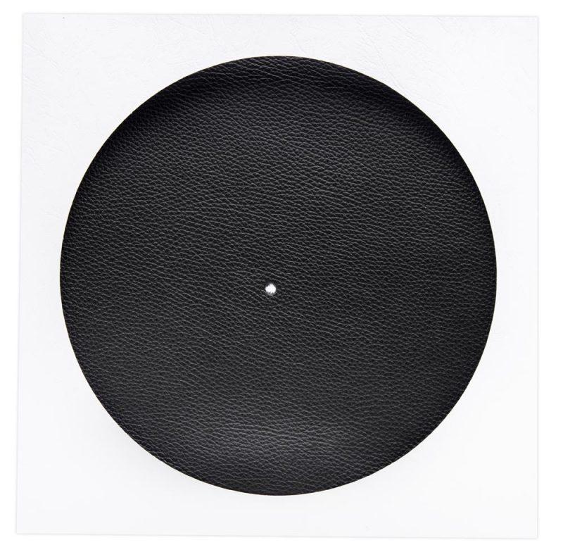 Vinyl Slipmat Leather Black 1,5 mm - Audio Anatomy