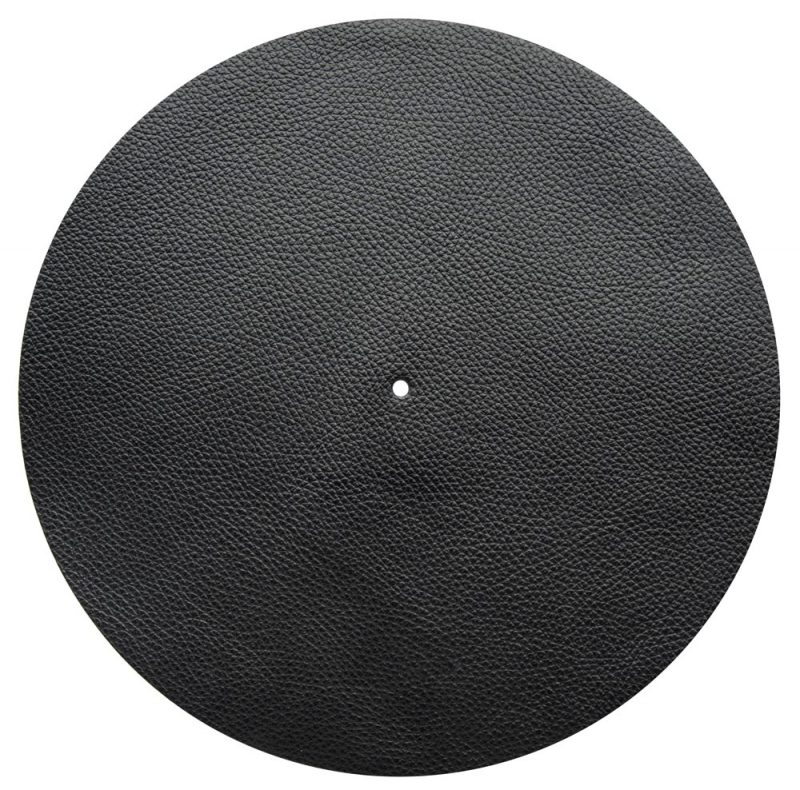Good Vinyl Slipmat Leather Black 1,5 mm - Audio Anatomy