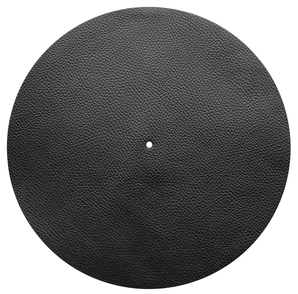 Good Vinyl Slipmat Leather Black 1,5 mm - Audio Anatomy
